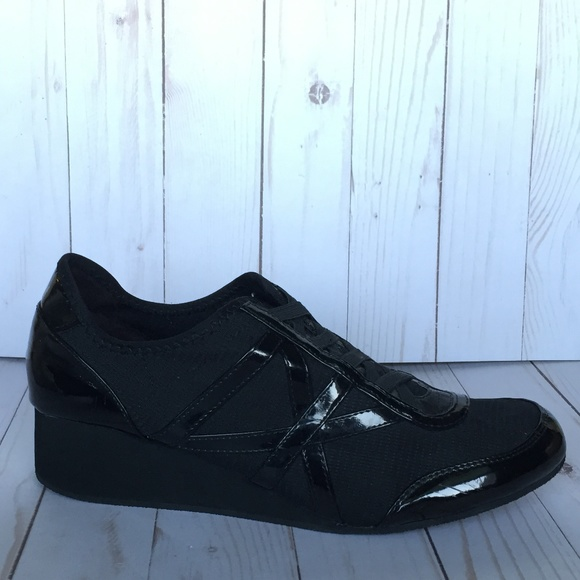27fd812a0ab Dkny Shoes - Donna Karan DKNY Black Wedge Sneaker